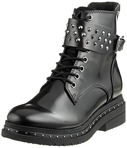 Tamaris Damen 25113-21 Combat Boots, Schwarz (Black Brush 25), 36 EU