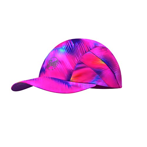 Buff Damen Pro Patterned Run Cap, R-Shining Pink, One Size Polyester Pro Mesh Cap