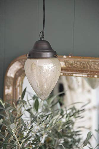 Jeanne d\'Arc Living Vintage Hängelampe Hängeleuchte Leuchter Milchglas Lampe