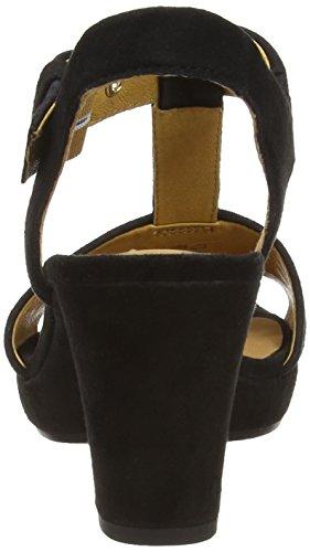 Gabor Shoes Gabor, Salomés Femme Multicolore (Black)