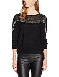 Molly Bracken S3016A16 - Pull - Uni - Col rond - Manches longues - Femme