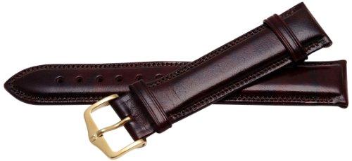 Bernex Ascot Unisex-Armbanduhr mit Lederarmband braun GB42153