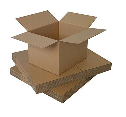 Boîtes d'emballage en carton 25 m - 20,3 x 15,2 x 15,2 cm
