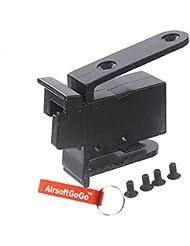 CYMA Metal Adaptador de Culata para Cyma CM028 CM028A CM042 CM042A Airsoft AEG - AirsoftGoGo Llavero Incluido
