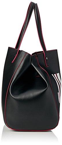 Juicy by Juicy Couture Damen Arlington Tote, 22 x 33 x 34 cm Schwarz (Black Juicy Print)