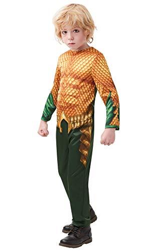Rubie's Offizielles DC Aquaman The Movie-Kostüm für Kinder, Größe M, Alter 5-6 - Alte Dame Und Der Baby Kostüm Großbritannien
