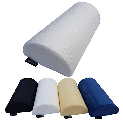 Medipaq® Half Moon' Memory Foam Cushion Pillow - Soft Yet Firm - Use For Neck, Lower Back, Knees, Legs, Feet Virtually Any Position! …