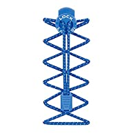 Nathan Lock Laces - Blue, One Size