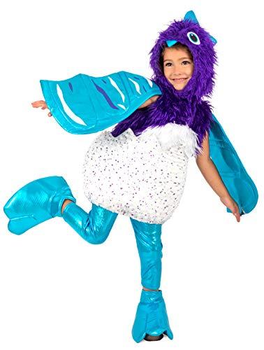 Hatchimal Hatchable Draggle Kids Fancy Dress Costume X-Small