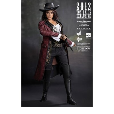 Hot Toys Movie Masterpiece - Pirates of the Caribbean On Stranger Tides - Angelica Sideshow Exclusive Edition 1/6 Scale Action Figure by Sideshow Collectibles