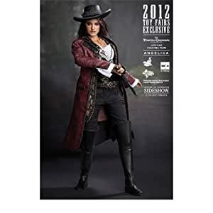 Angelica - Pirates of the Caribbean Hot Toys 12inch Figure by Hot Toys (English Manual)