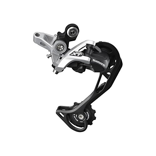 Shimano Deore XT RD-M781 Shadow Schaltwerk 10-fach Direktmontage silber Ausführung langer Käfig, 11-36 Zähne 2016 Mountainbike -