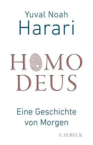 Buchseite und Rezensionen zu 'Homo Deus: Eine Geschichte von Morgen' von Yuval Noah Harari