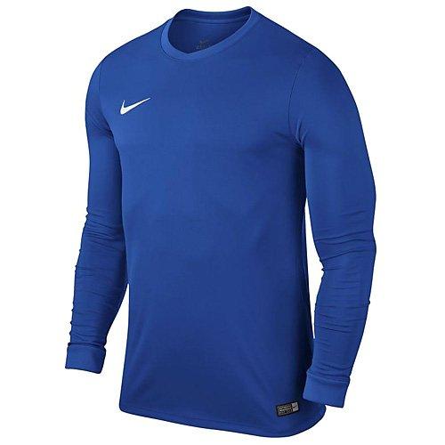 Nike Kinder Langarm Trikot Park VI, Royal Blue/White, S, 725970-463