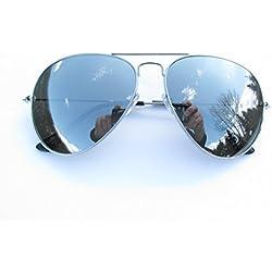 ALPLAND -Sonnenbrille - SPIEGELBRILLE MOTORRADBRILLE GLÄSER voll VERSPIEGELT! Mit SOFTBAG!