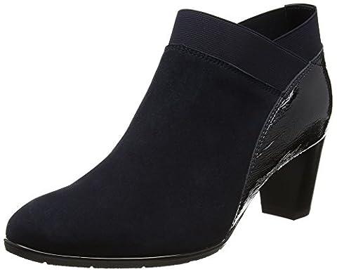 ara Damen Kurzschaft Stiefel Stiefel Toulouse-St, Blau (Blau), Gr. 37 (UK 4)