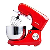 QIHANG-UK Electric Stand Mixer 800W for Baking Kitchen Food Mixer with 5.5L Bowl