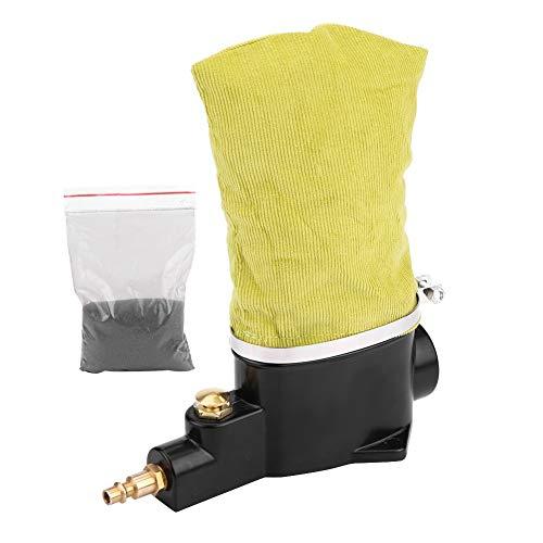 Pulitore per candele d'aria auto ad alta efficienza Strumento di pulizia pneumatico facile da usare con abrasivo