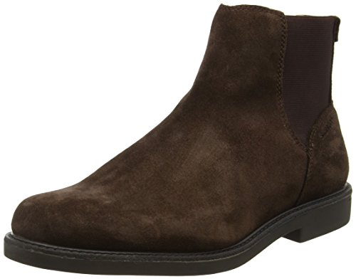 Sebago Turner, Bottes Chelsea Homme, Marron (Dk Brown Suede Wp), 45 EU