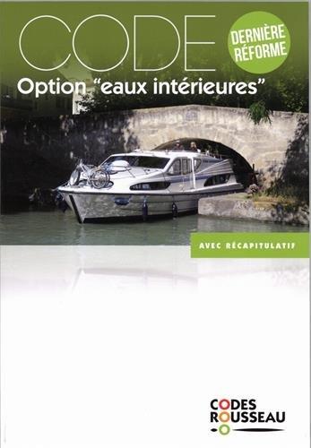 Code Rousseau code eaux intrieures 2018