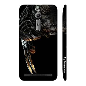 Enthopia Designer Hardshell Case THE PREDATOR Back Cover for Asus Zenfone 2