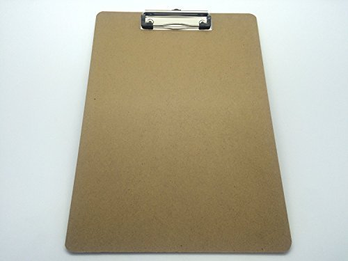 pack-of-10-a4-quality-wooden-clipboard-with-hanging-hole