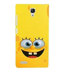 EPICCASE Minion Yellow Mobile Back Case Cover For Xiaomi Redmi Note (Designer Case)