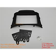autostereo marco de montaje para coche adaptador de radio de coche para Hyundai I-30(modelos de 2012+ fascia Facia panel CD Adaptador Estéreo Radio Kit de montaje