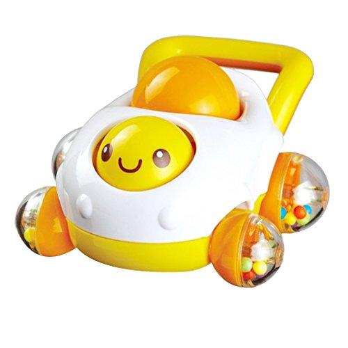Auby Baby-Geklapper Mobil-Karikatur-Auto-Form Rattert Baby-Spielzeug Sounding Spielzeug