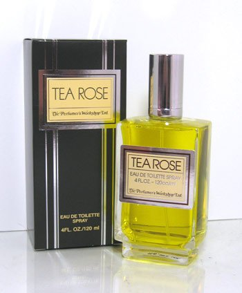TEA ROSE by Perfumers Workshop Eau De Toilette Spray 120 ml -