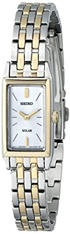 Seiko Women's SUP028 Stainless Steel Solar Watch