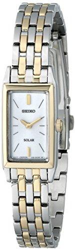 Seiko Women's SUP028 Stainless Steel Solar Watch