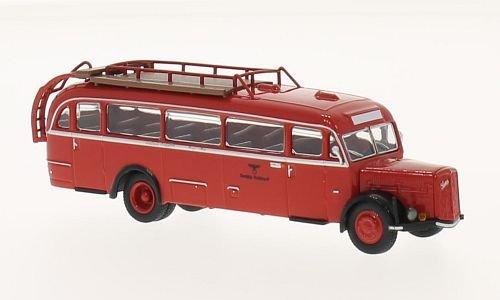 Saurer BT 4500, Deutsche Reichspost, 0, Modellauto, Fertigmodell, Brekina Starline 1:87