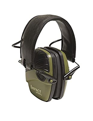 Howard Leight - Impact Sport - Aktiver Gehörschutz ideal für Jäger, sehr flach, faltbar SNR 25