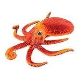 HGYTLOY Realistische Kuscheltiere Paul Octopus Plüschtiere Puppen Kissen Weiche Stofftiere für Kinder Geschenke, 30 cm