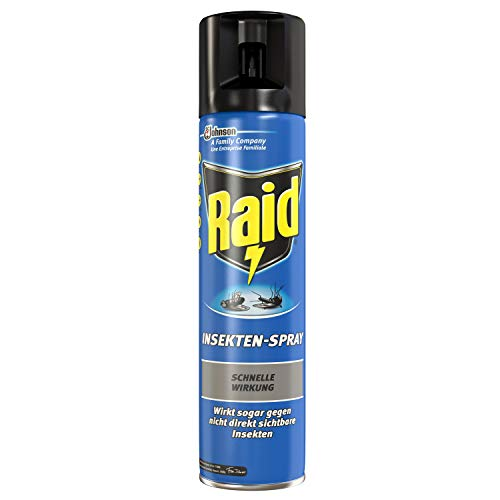Raid (Paral) Insektenspray u.a. gegen Mücken und Fliegen, schnelle Wirkung, 1er Pack (1 x 400 ml)