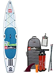 "Red Paddle Co SRED613230 - Tablas paddle surf hinchables, color verde, 13'2"" x 30"""