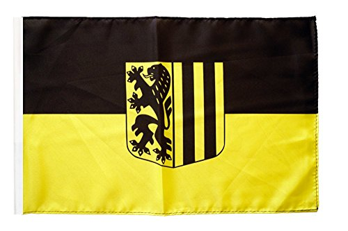 Flagge / Fahne Stadt Dresden + gratis Sticker, Flaggenfritze®