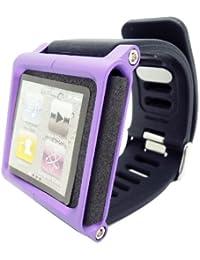 Hoso Multi-Touch Hoso Aluminio-Brazalete para Apple iPod Nano 6. Generación 8 GB 16 GB (OEM)