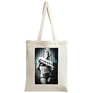 Alysha Nett Waering Fucked T-shirt Tote Bag