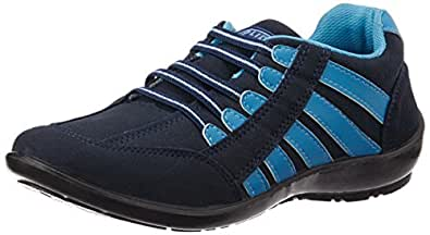 Gliders (From Liberty) Women's Gargi-01 Blue Track and Field Shoes - 3 UK/India (36 EU)