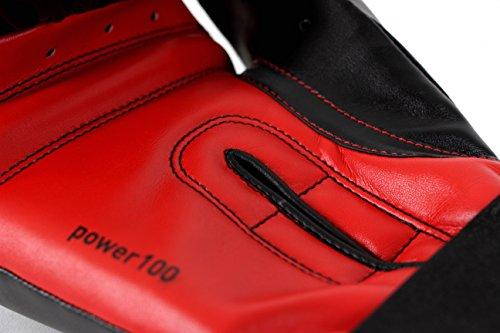 adidas Boxhandschuhe Power 100, Schwarz, 12, ADIPBG100 - 5