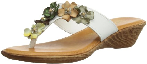 Lotus Sicily - Sandales - Femme Multicolore (White/Multi)