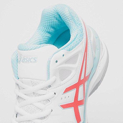 Asics Gel Netburner 18 (D) Women's Scarpe Da Netball - SS17 White