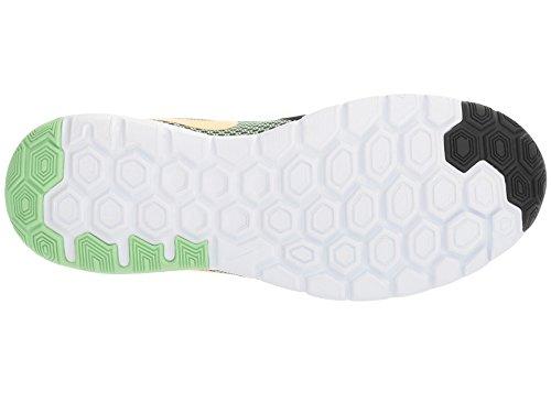 Nike Damen Flex Experience Run 6 Laufschuhe Schwarz (Black/sunset Glow/fresh Mint/white)