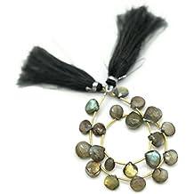 Prime vendita su Amazon Powered by gioiello perline per 1filo labradorite naturale 7–10mm cuore sfaccettato perline lungo 22,9cm.