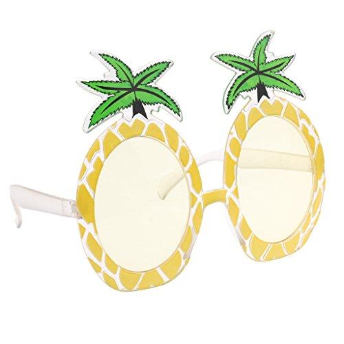MagiDeal Kunststoff Ananas Dekobrille Lustige Partybrille Sonnenbrille Kostüm -