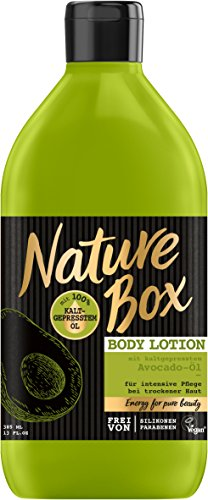 Nature Box Body Lotion Avocado-Öl, 3er Pack (3 x 385 ml)