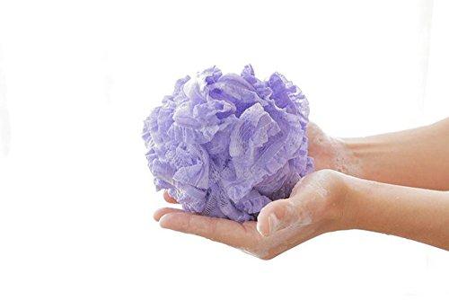 Kaige sfera del bagno ispessimento lace ball vasca bagno palla bagno
