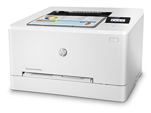 HP Laser Jet Pro M254nw   Impresora Color láser (hasta 21 ppm  ethernet y Wi Fi  inalámbrico  DDR de 256 MB  Disco Duro de 2 GB  Windows 7  8  8.1 y 10  HP Auto On/Auto Off  USB Frontal) Blanco